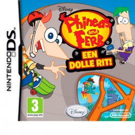 Phineas and Ferb een dolle rit