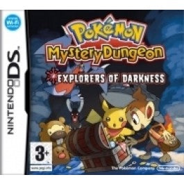 Pokemon explorers of darkness