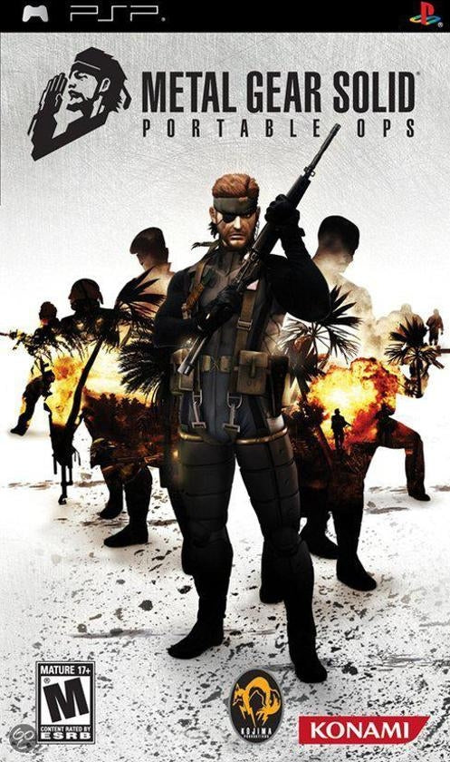 Metal Gear Solid: portable ops (import)