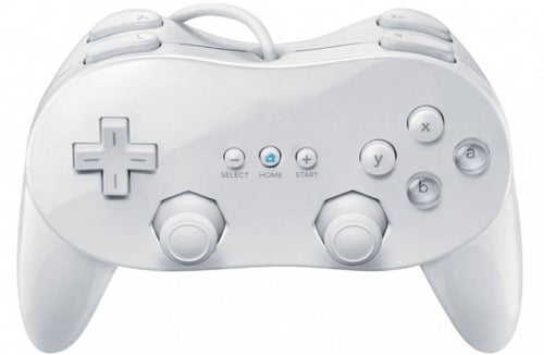 Classic PRO controller wit 3rd party voor Nintendo Wii