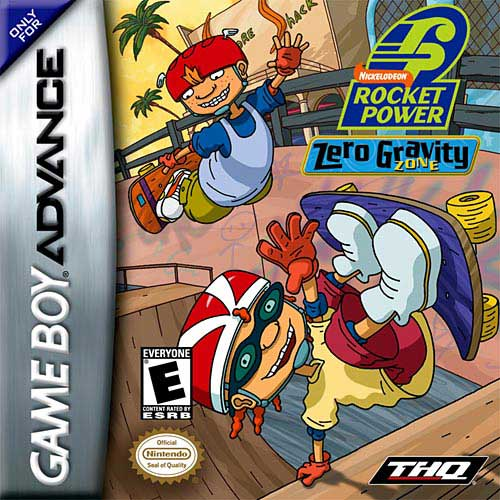 Rocket power zero gravity zone (losse cassette)