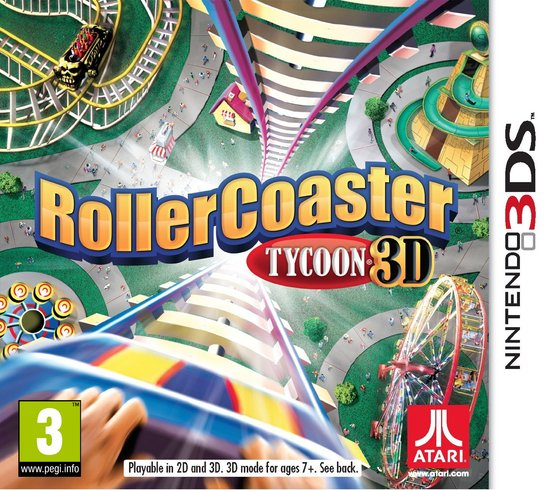 Rollercoaster tycoon 3D USED