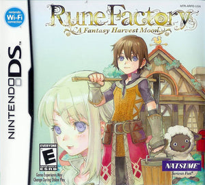 Rune Factory a fantasy Harvest Moon (import, nieuw in seal!)