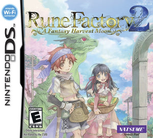Rune Factory 2 a fantasy Harvest Moon (import, nieuw in seal!)