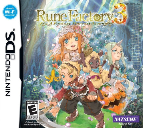 Rune Factory 3 (import, nieuw in seal!)