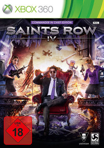 Saints Row IV (4) commander in chief edition