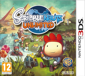 Scribblenauts unlimited USED