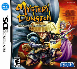 Mystery Dungeon: Shiren the Wanderer (import, nieuw in seal)
