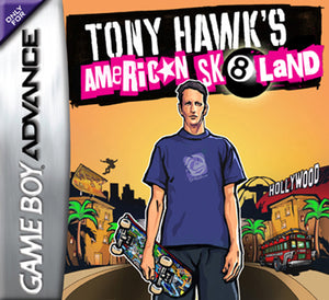 Tony Hawk's American sk8land (losse cassette)