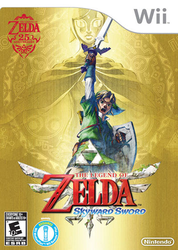 The legend of Zelda skyward sword + cd limited edition