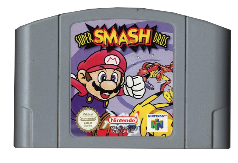 Super Smash Bros (losse cassette)