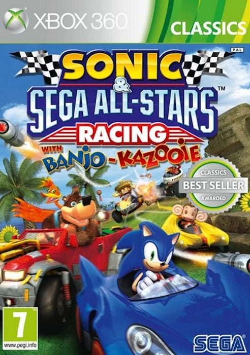 Sonic & Sega all-stars racing with Banjo & Kazooie