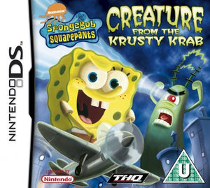 Spongebob creature from the krusty krab