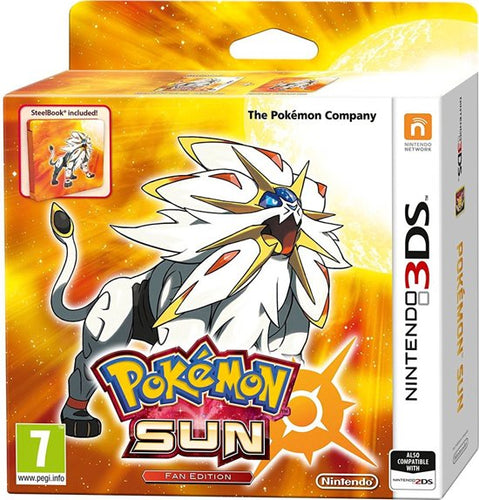 Pokemon Sun fan edition