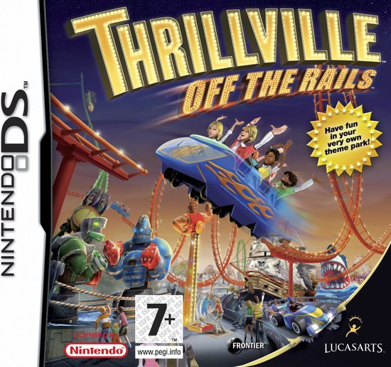 Thrillville off the rails (losse cassette)
