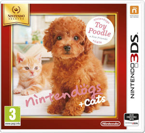 Nintendogs and cats 3D: toy poodle