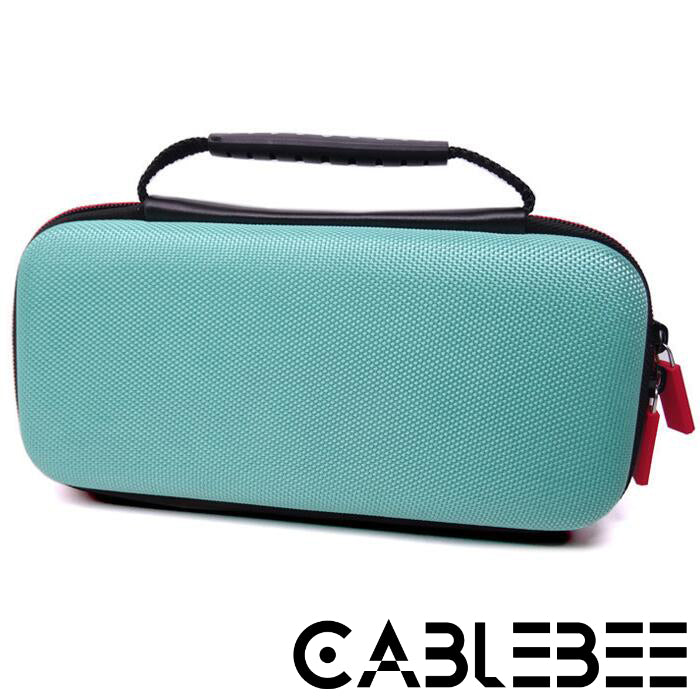 Cablebee Nintendo Switch Lite harde beschermhoes turquoise