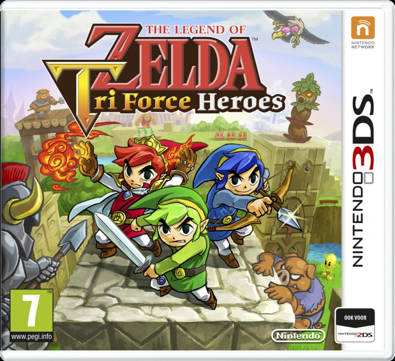 The legend of Zelda tri force heroes USED