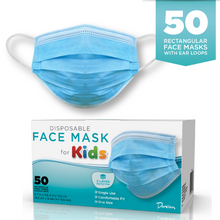 Load image into Gallery viewer, Case of 50 Disposable Face Masks - Kids size