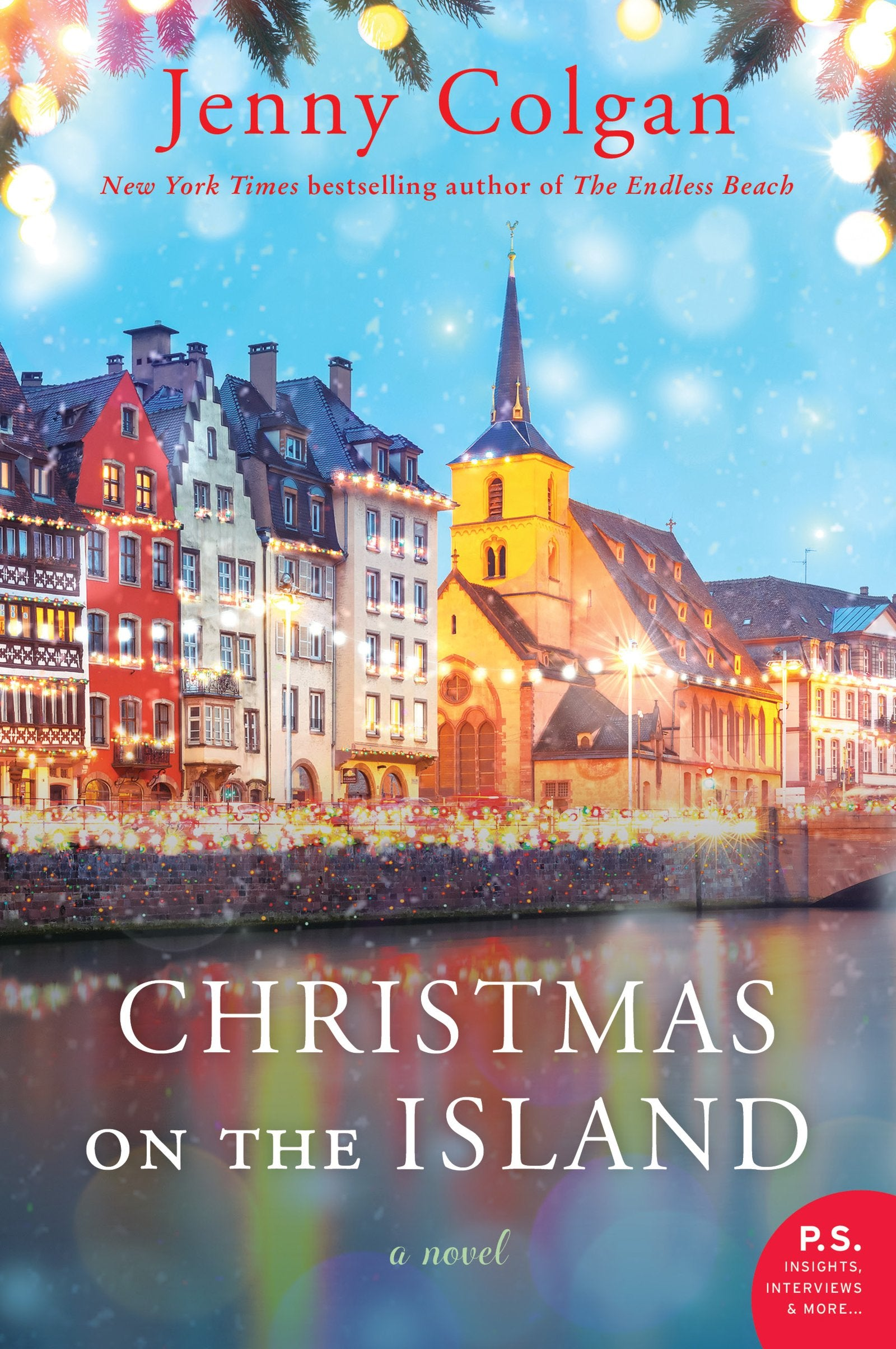 Christmas on the Island by Jenny Colgan - Lavender Hill Designs Book Club
