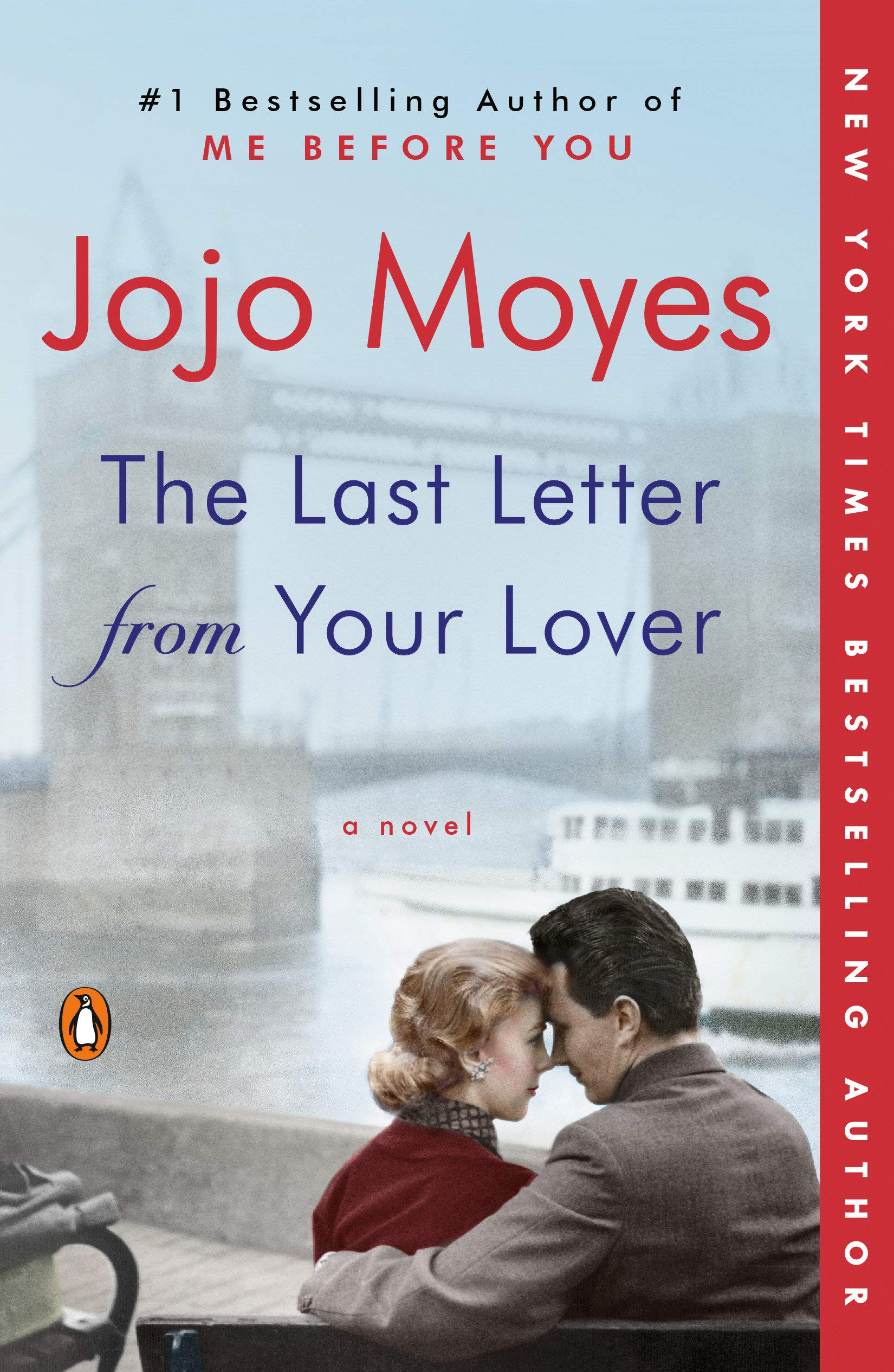 The Last Letter from Your Lover by Jojo Moyes Lavender Hill Designs Book Club December