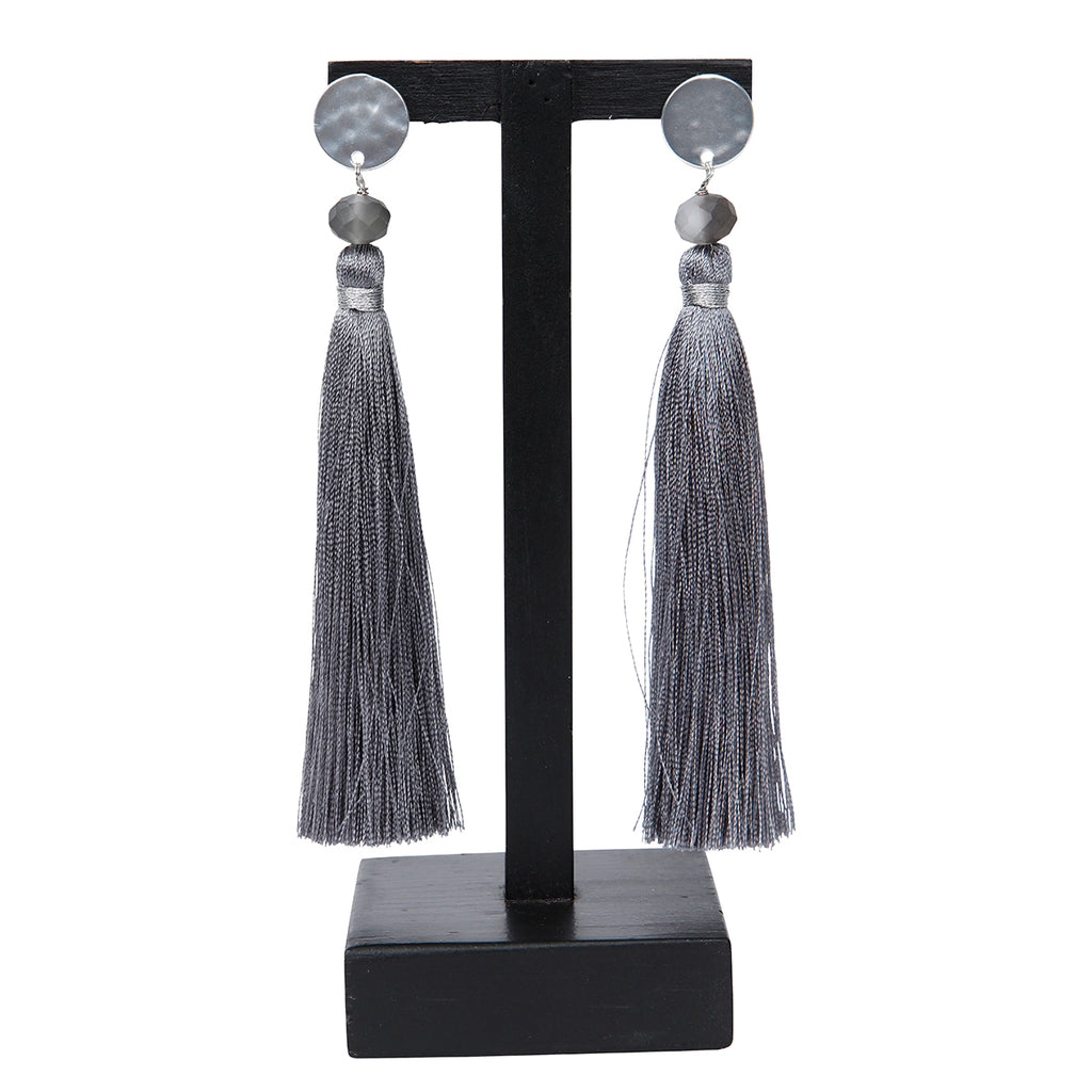 Maya Grey Earrings