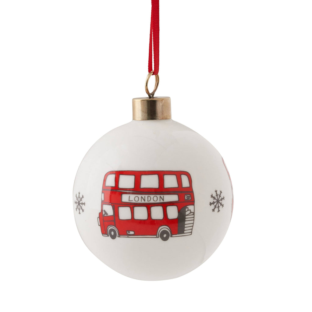 London Bus Bauble Ornament