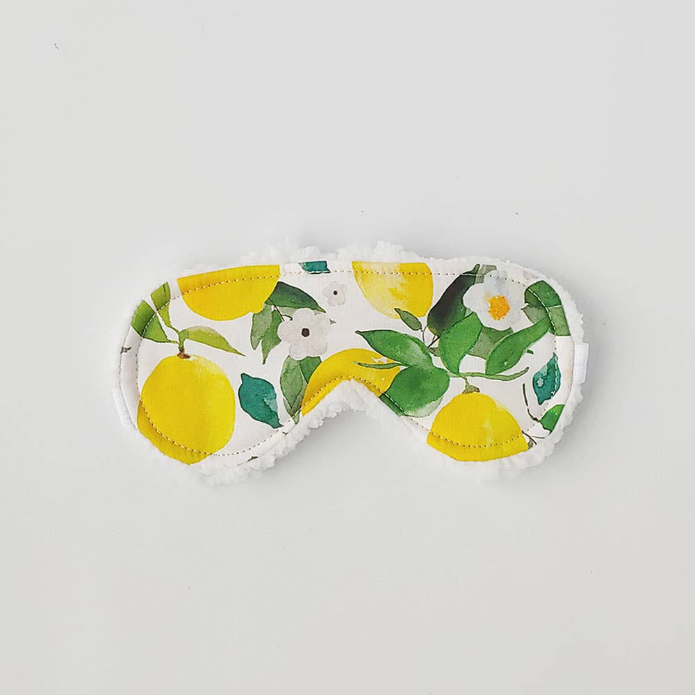 Lemons and Blooms Sleep Mask
