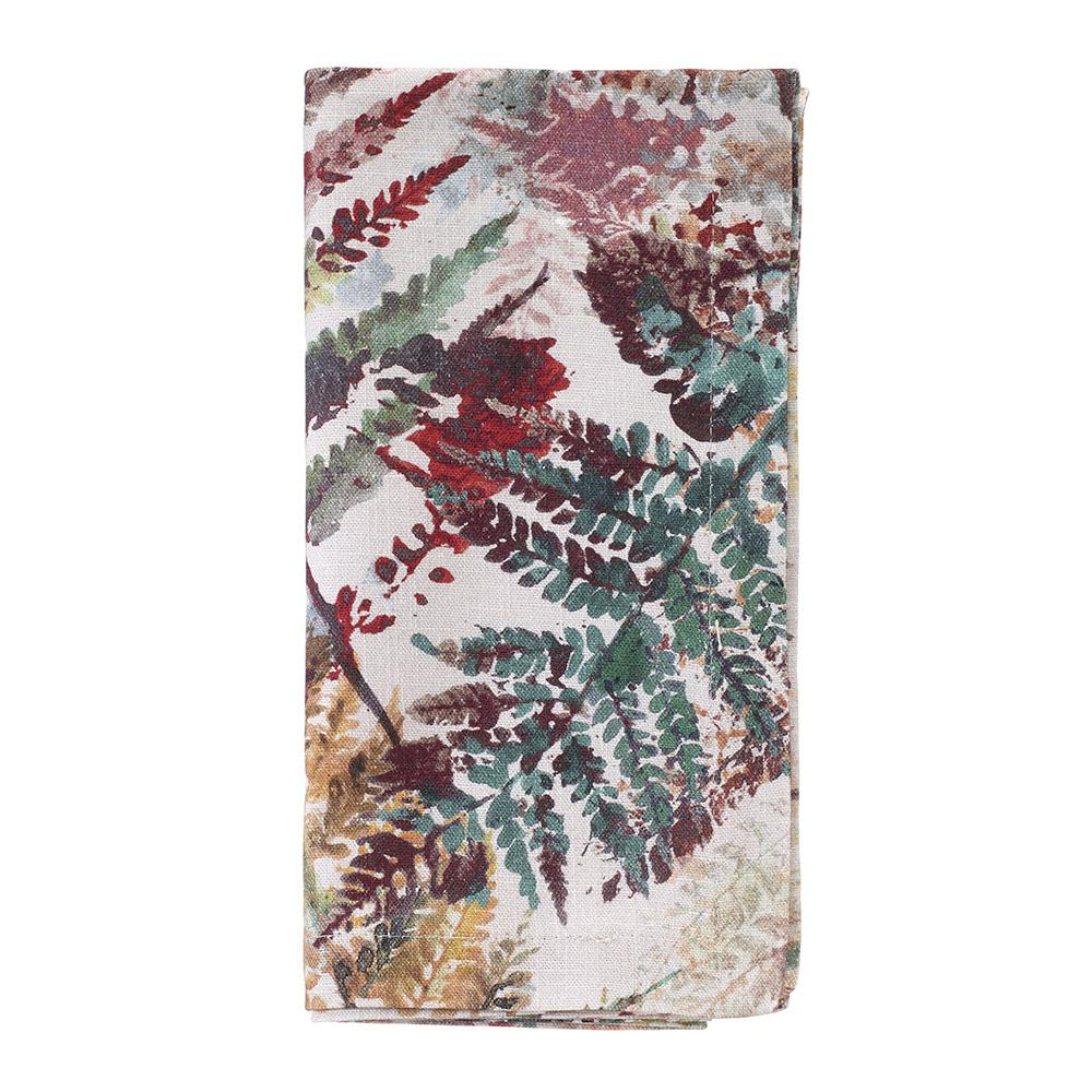 Autumn Fern Napkins