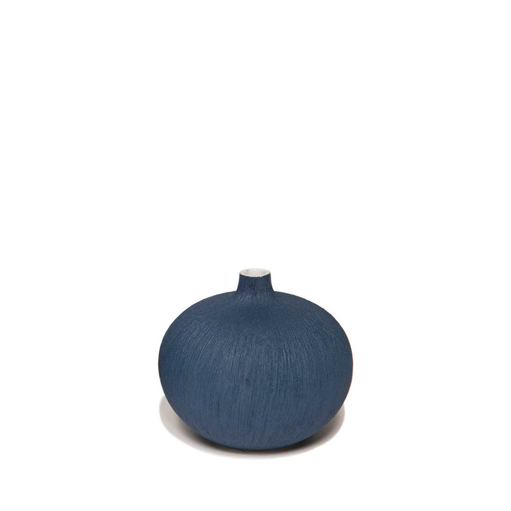 Bari Small Vase Dark Blue Lindform