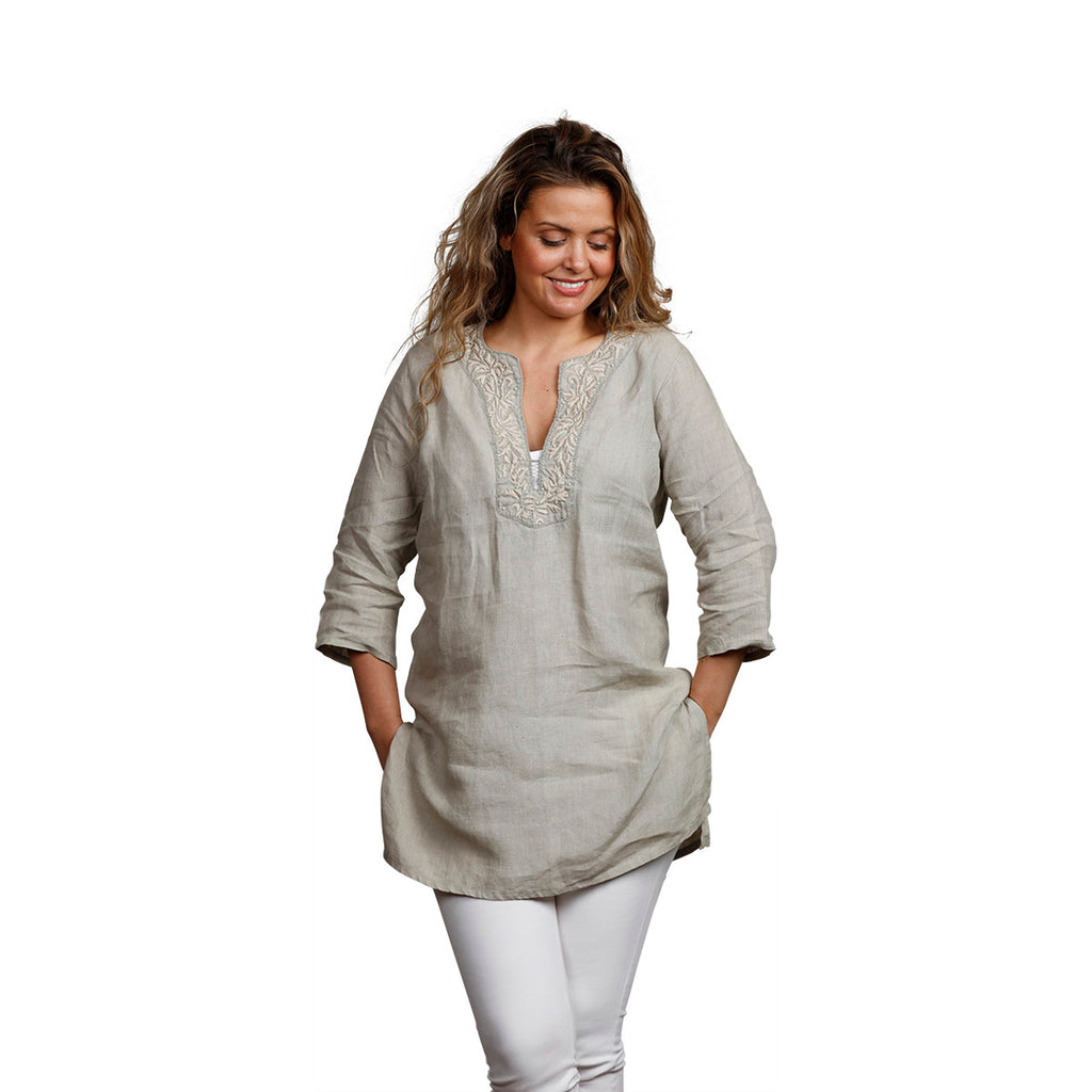 Belle Tunic Taupe