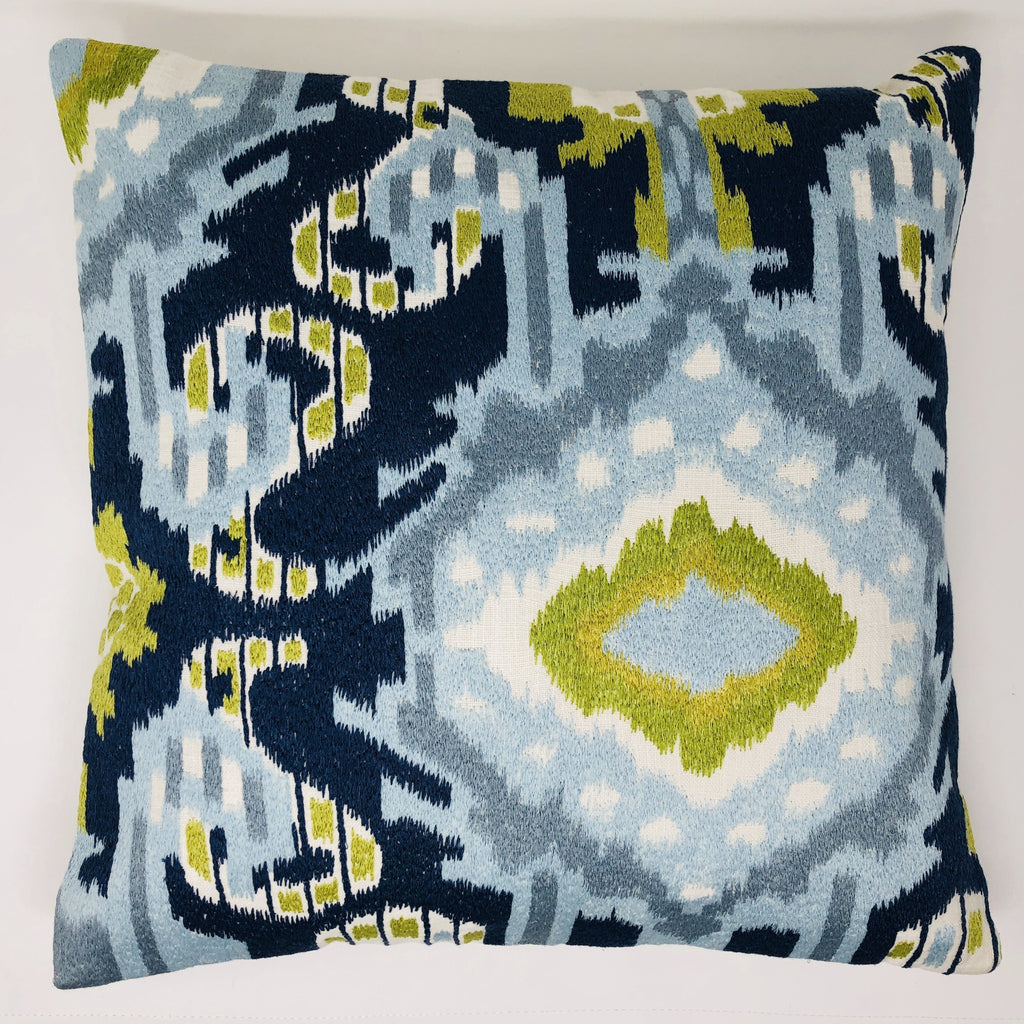 Blue Majestic Pillow