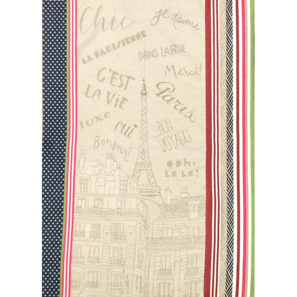 Bonjour Multicolor French Tea Towel