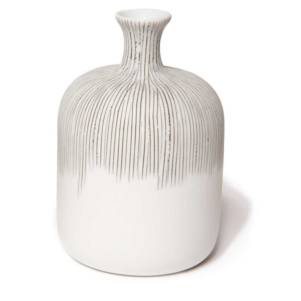 Bottle Medium Vase Grey Fade Lindform