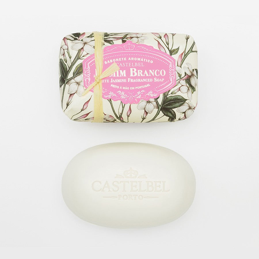 White Jasmine Soap Bar Castelbel
