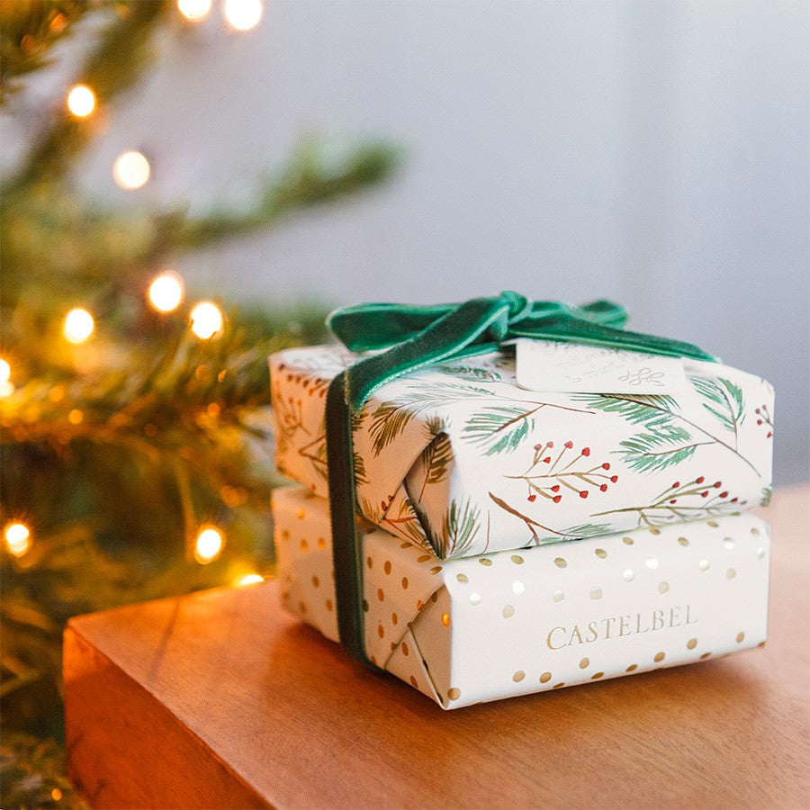 Castelbel Christmas Forest Green Soap Duo