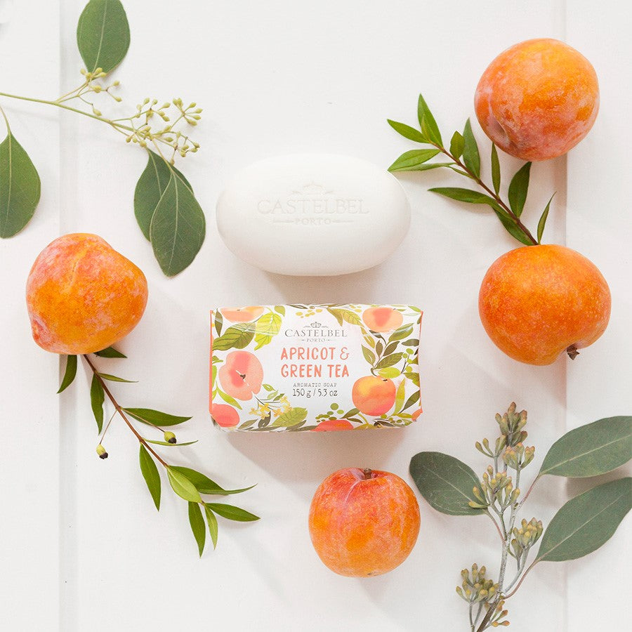 Castelbel Fruits and Flowers Soap Apricot and Green Tea