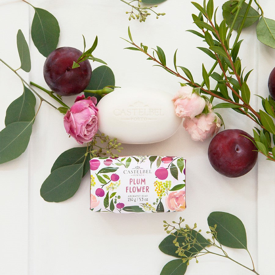 Castelbel Fruits and Flowers Soap Plum Flower