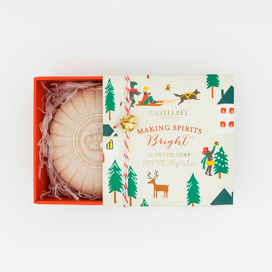 Castelbel Winter Fairy Tale Making Spirits Bright Soap