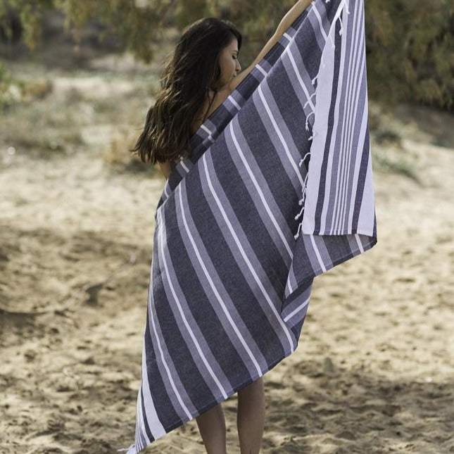 Charcoal Samsara Turkish Towel