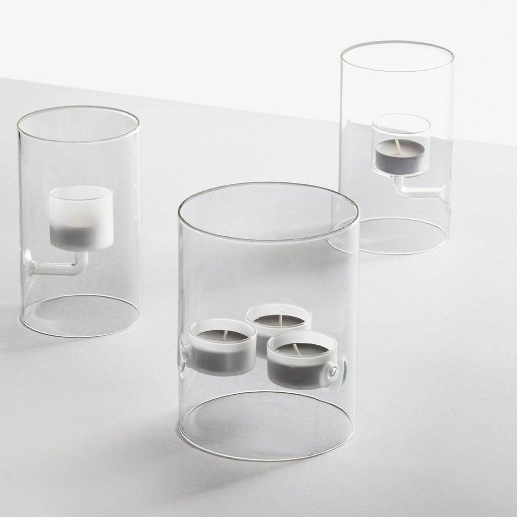 Cilindro 3 Tealight Candle Holder
