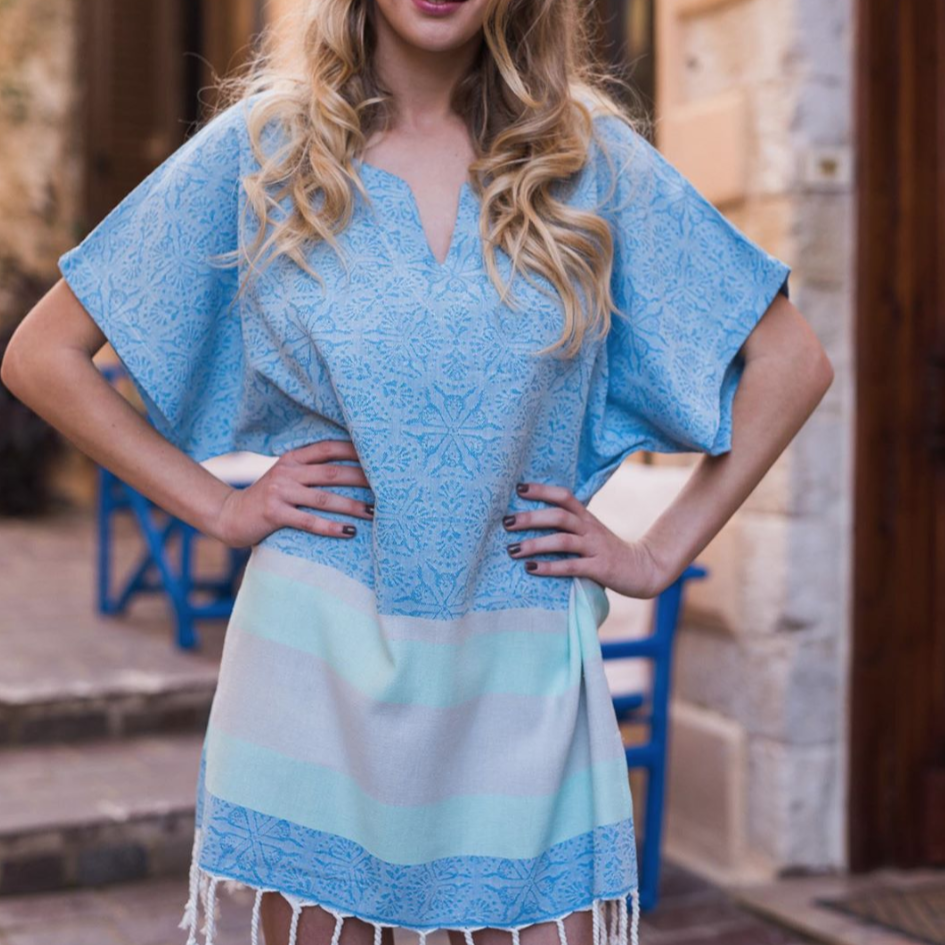 Coast Blue Beach Tunic