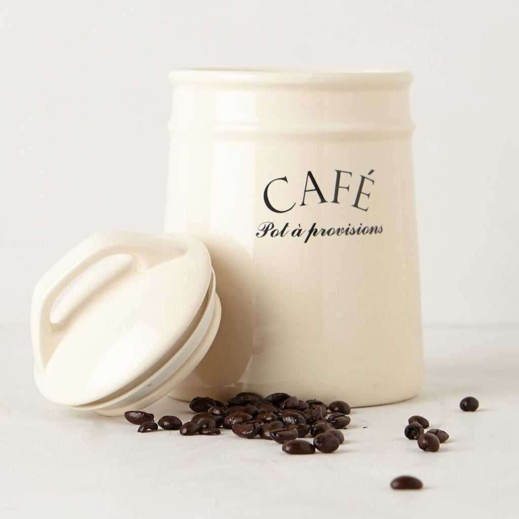 Coffee Cafe Provisions Canister
