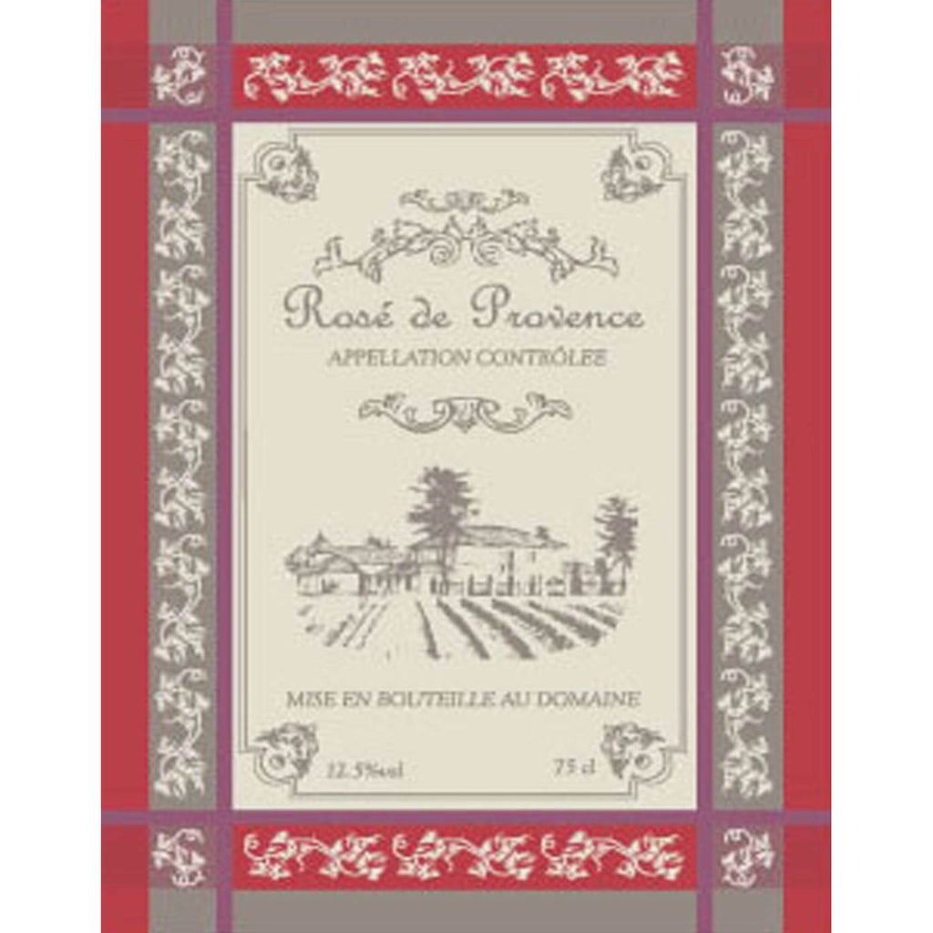 Cote de Provence Wine French Tea Towel Sud Etoffe