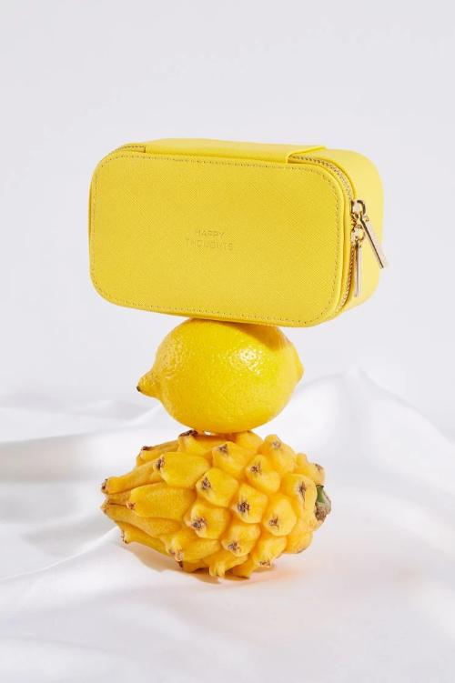 Estella Bartlett Yellow Jewelry Box