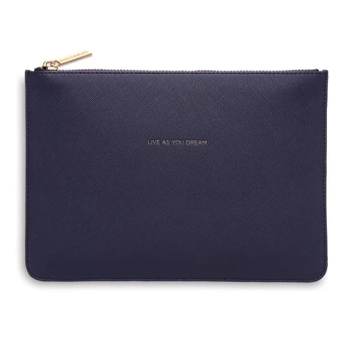 Estella Bartlett Navy Pouch