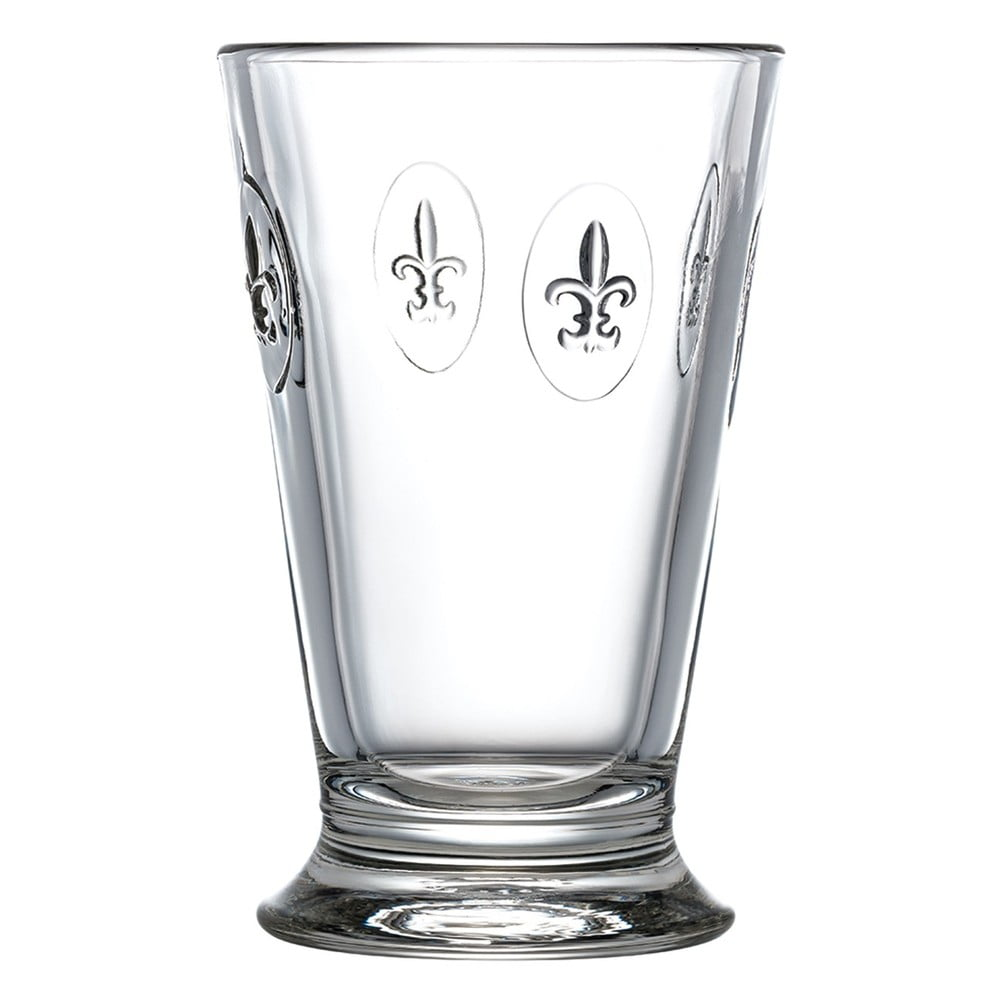 Fleur de Lys Iced Tea Glass La Rochere