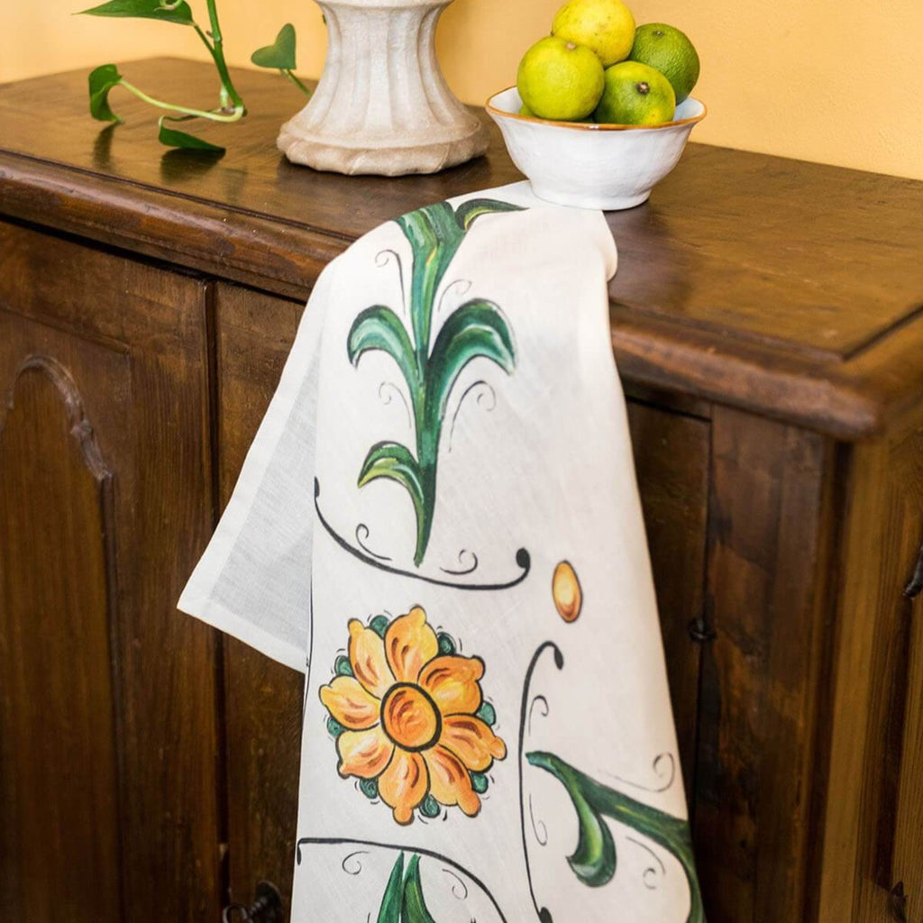 Napking Floral 1 Tea Towel