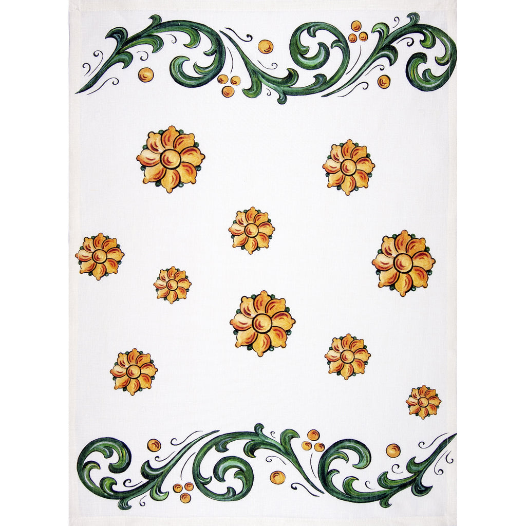Napking Floral 2 Tea Towel