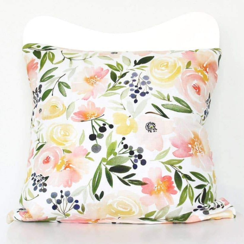 Floral Ensemble Throw Pillow Cover